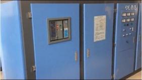 龙口富元机械3台1.5T可控硅串联电炉安装完毕