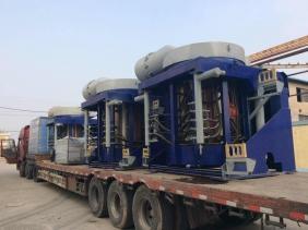 钢壳4电8炉发货