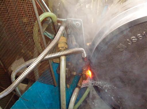 引导轮表面淬火