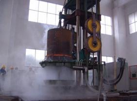 大型钢管淬火