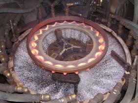 大型齿轮淬火加热