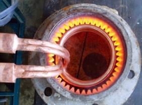 齿轮内齿淬火加热